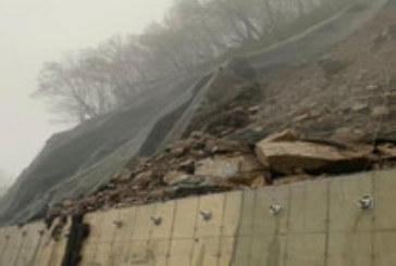 Продължава обезопасяването на свлачището, блокирало пътя към Рилския манастир