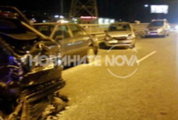 Заледяване е една от причините за верижната катастрофа в София