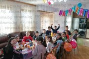 Търговци от Сандански организираха парти с пинята за рождения ден на сина си Еди