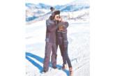 Футболистът Ал. Дюлгеров и гаджето му М. Маринова в любовни прегръдки на Бодрост