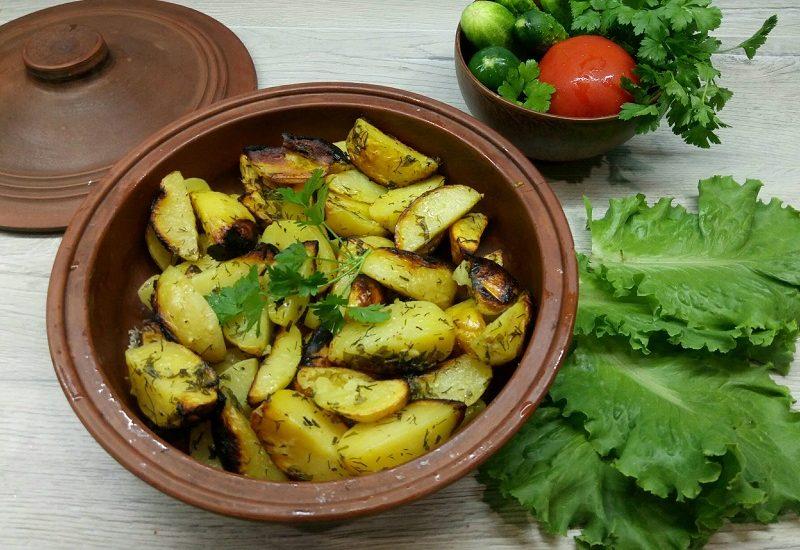 Картофи на фурна в плик
