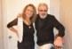 Благоевградската певица и коафьорка Люси Съботинова с ново хоби – рисуването, съпругът й Христо стана първият модел
