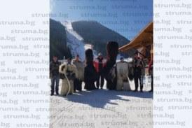 Кукери прогониха злите сили на старта на Световната купа по ски в Банско