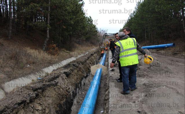 Спасителният водопровод до Перник още няма разрешение за строеж и е неузаконен