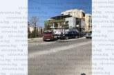 """Екшън в кв. """"Еленово""""! 19-г. благоевградчанин в зрелищна каскада потроши паркирани коли /снимки/"""