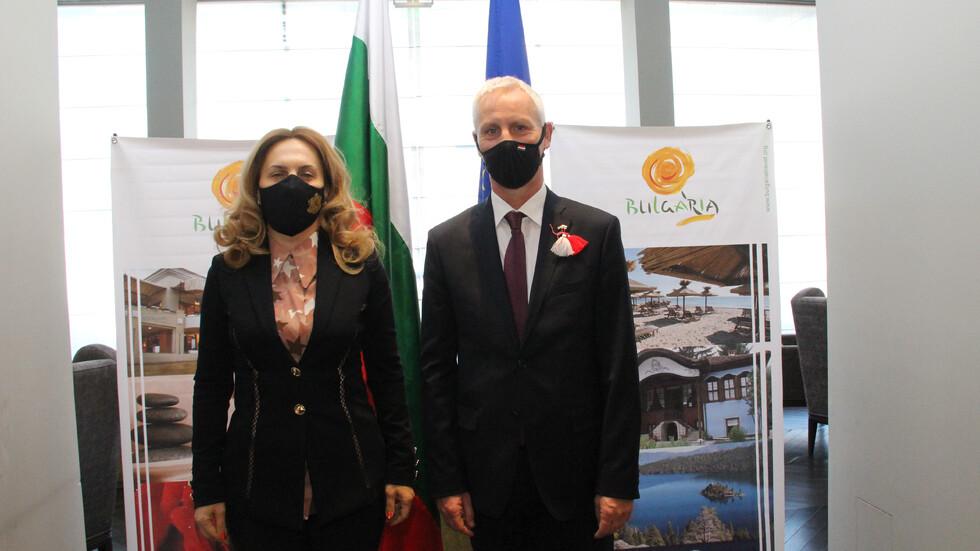 Министърът на туризма М. Николова: България подкрепя идеята за
