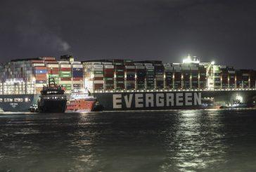 Кораби с над 130 000 живи животни са блокирани в Суецкия канал