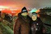 Благоевградчаните Александър и Цветанка Караджови се насладиха на грейналия в бяло, зелено и червено природен феномен