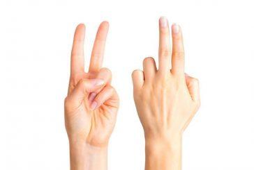 Сравнете дължината на показалеца и средния си пръст и разберете дали сте склонни към изневяра