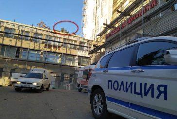 Полицай се хвърли от 5-ия етаж на болница в Бургас