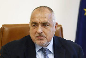 Бойко Борисов обяви министрите в кабинета с премиер Даниел Митов