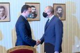 Президентът Румен Радев връчва мандат на ГЕРБ-СДС