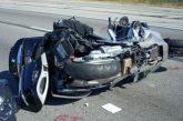 Смъртоносен удар край с. Кърналово! 27-г. моторист се заби в кола, загина на място