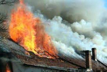 Огнен ужас! Изгоря покрива на къща при пожар в гоцеделчевското с. Копривлен