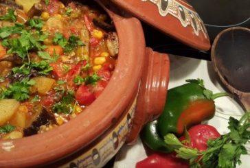 Постен гювеч със зеленчуци