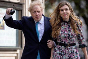 Първа снимка от тайната сватба на Борис Джонсън (СНИМКА)