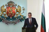 Служебният премиер Стефан Янев: Аз съм човек, който не дава празни обещания
