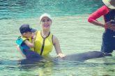 Антония Петрова празнува рожден ден с Гордън Рамзи и делфини