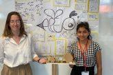 18-г. перничанка, бъдеща дизайнерка, проектира шестоъгълна релакс сграда, в края на месеца жури решава дали да бъде издигната в Олимпийския парк в Лондон