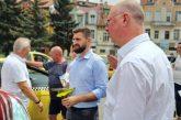 Росен Желязков и Андон Тодоров се срещнаха с таксиметрови шофьори в Благоевград