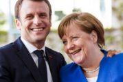 Макрон на работна вечеря в Берлин с Меркел