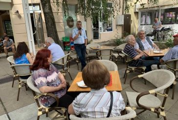 Пенсионери връчиха списък със задачи на бъдещия кмет Илко Стоянов