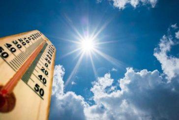 Слънчево и горещо днес
