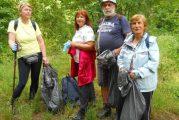 20 чувала с боклук изнесоха от района на Скакавишкия водопад планинари от Кюстендил