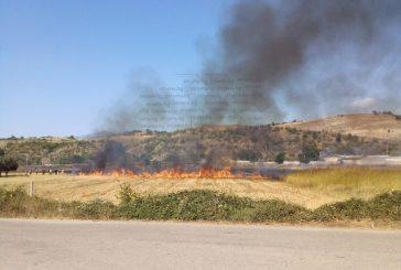 ОГНЕН АД! Два пожара бушуват край благоевградското село Бучино, пламъците приближават вили и къщи (Първи снимки в STRUMA.BG)