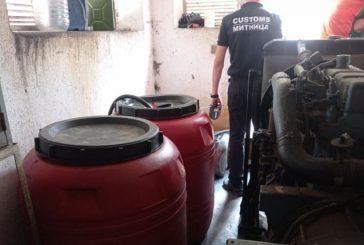 Иззеха 590 л гориво от нелегална бензиностанция